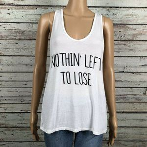 4Sienna Nothing Left to Lose Graphic Tank Shirt